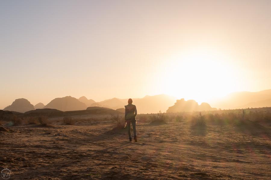 Sunrise in Wadi Rum, Jordan itinerary