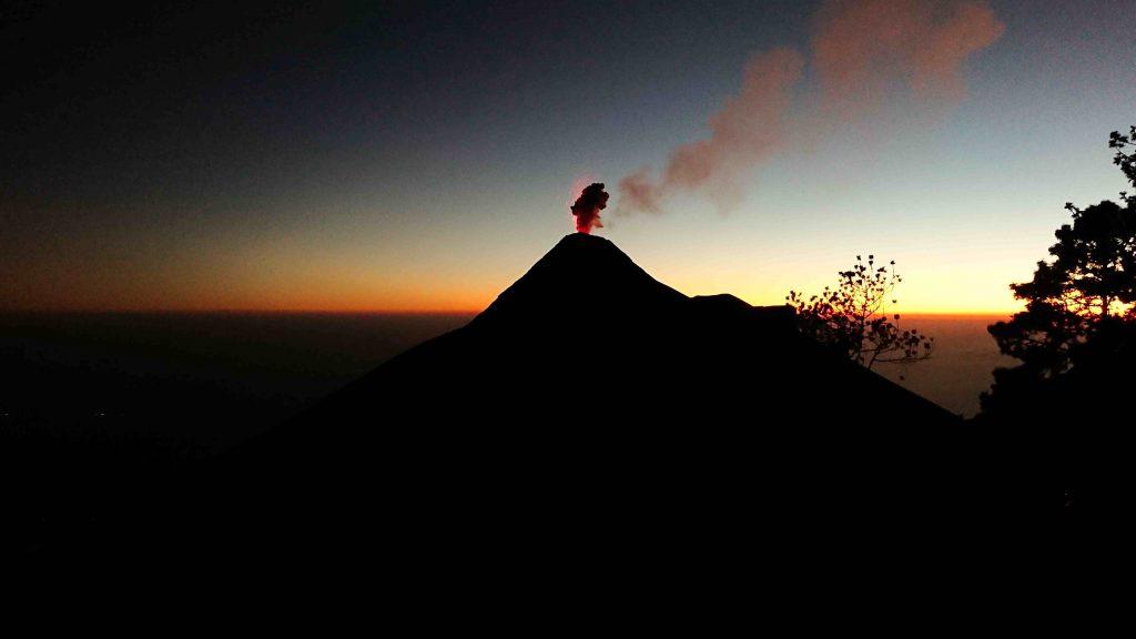 Acetengago volcano hike, Guatemala
