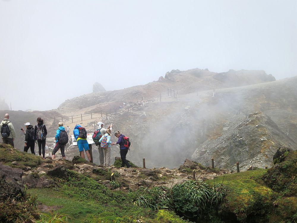 La Soufrière volcano hike in Guadeloupe