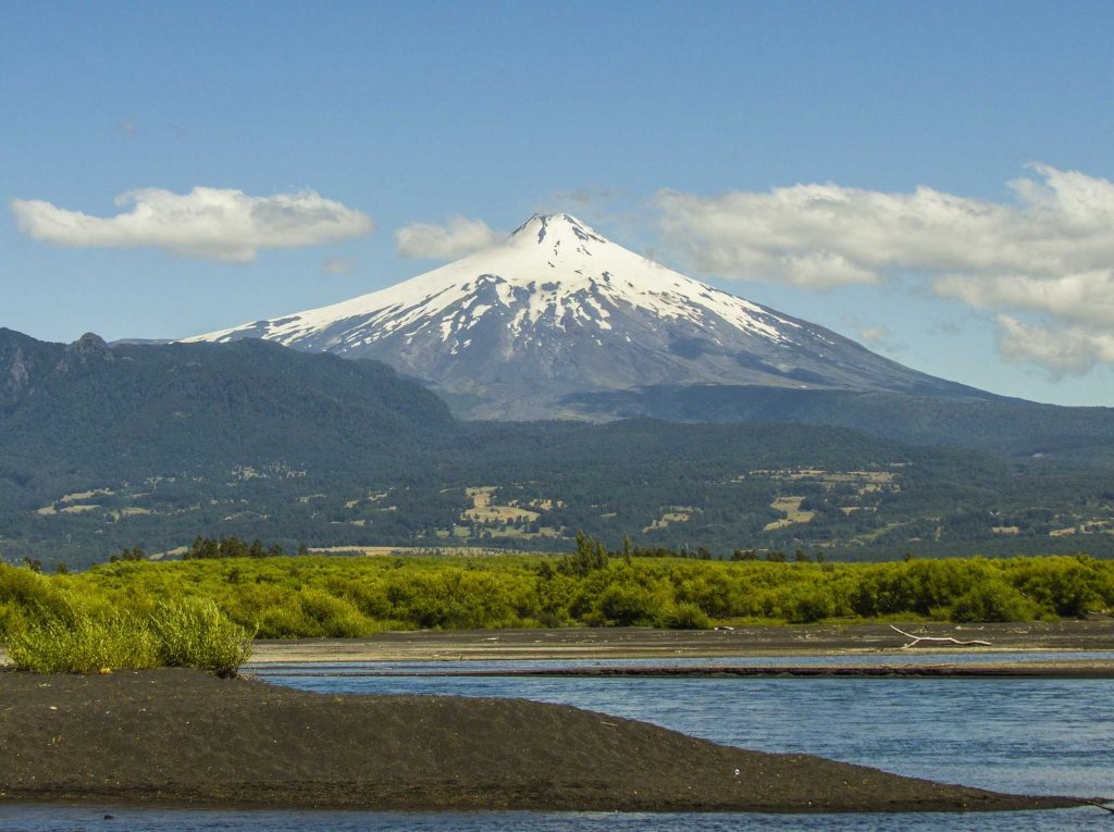 Villarica volcano hike chile