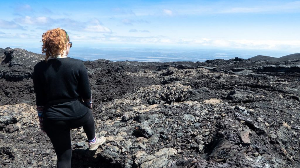 Volcan Chico hike galapagos