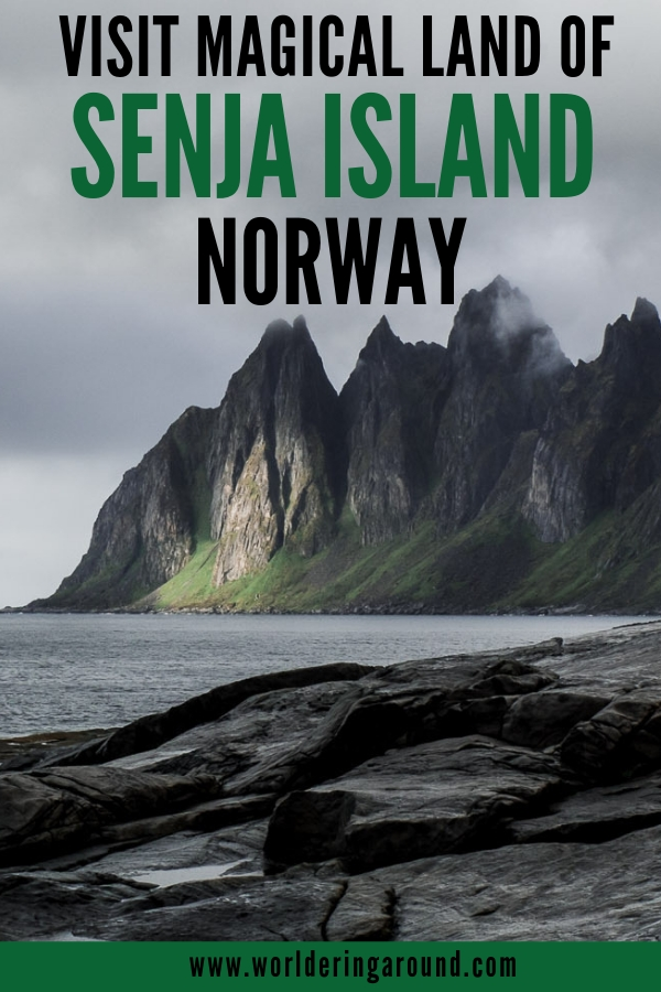 5 reasons why you should visit Senja island in Norway. Explore Norway off the beaten path with stunning views and less tourists than Lofoten. Paradise for adventure lovers and outdoor enthusiasts. | Worldering around #Norway #Senja #islands #Europe #hiddengem #offthebeat