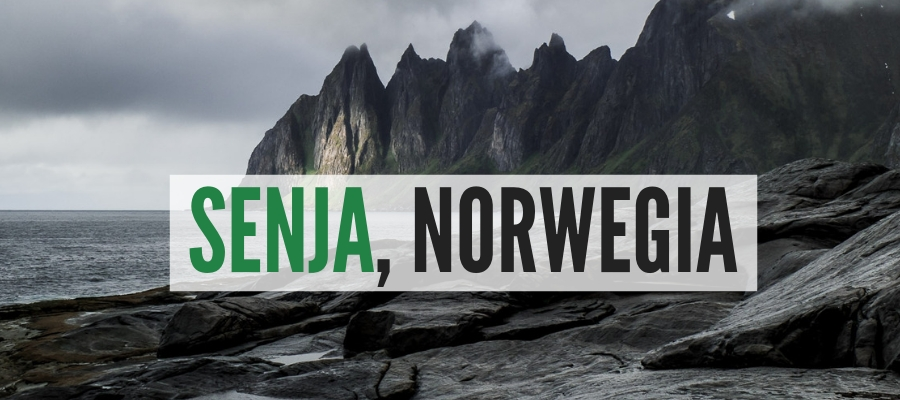 Senja Norwegia wyspa