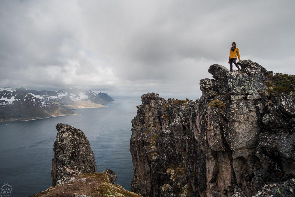 On top of Hesten, Senja
