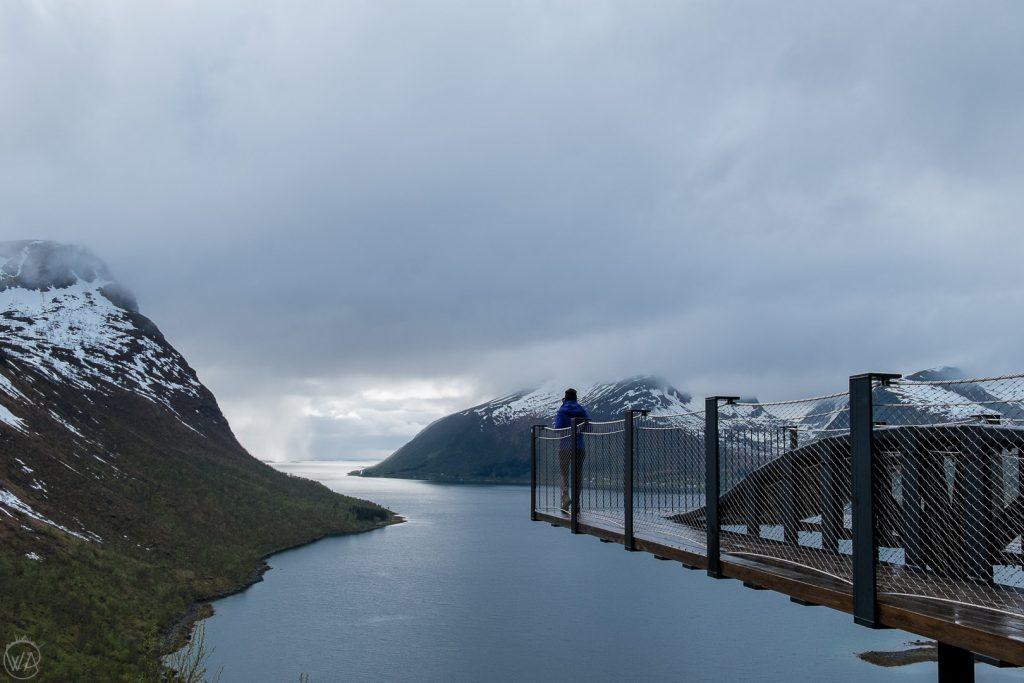 Bergsbotn platfrom, Senja, Norway