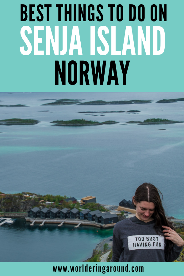 Find the best things to do in Senja island in Norway. Explore the magical island located off the beaten path in Norway and find striking landscape, jagged mountain peaks, white sand beaches and peaceful nature above the Arctic Circle. | #worlderingaround #norway #senja #arcticcircle #offthebeatenpath