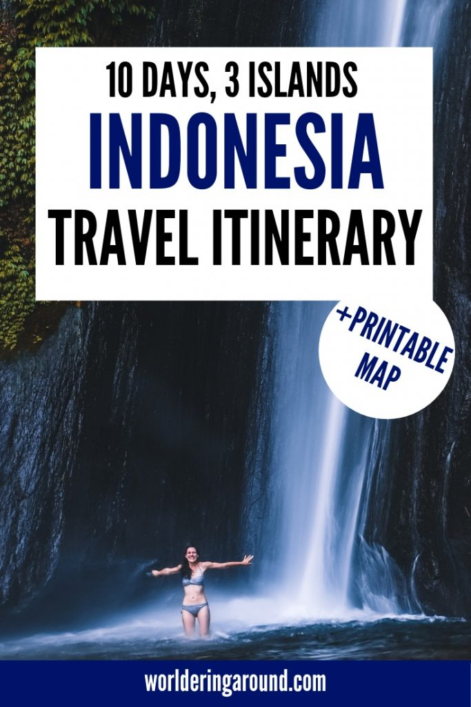 The best Indonesia travel itinerary, including Bali, Java and Gili islands. The best Indonesia backpacking tips and Indonesia travel tips. Read Indonesia travel guide and discover Indonesia beautiful places, Indonesia Bali but not only! | #worlderingaround #bali #indonesia #travel #java #itinerary #asia