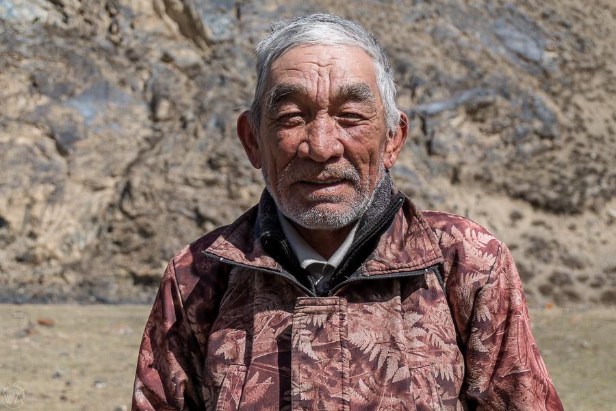 Local shepherd, Tian Shan, Kyrgyzstan.