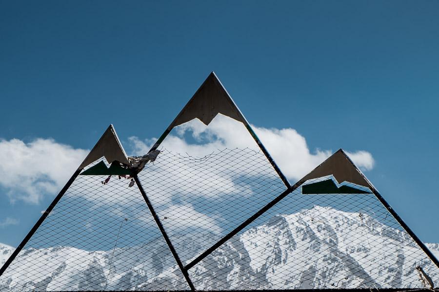 Mountain of Tian Shan, Kyrgyzstan