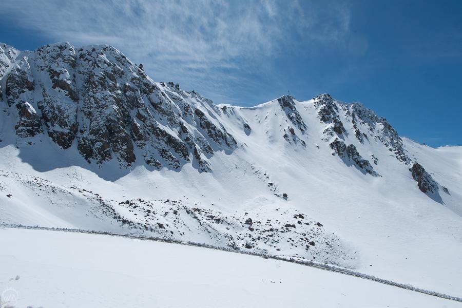 Drive to Chon-Ashu pass, Kyrgyzstan