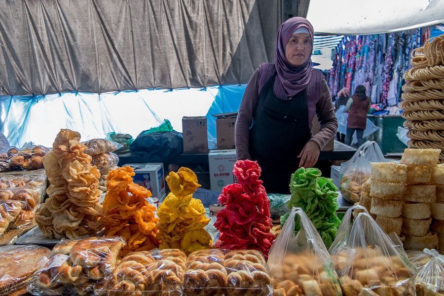 Visit local market Osh Bazaar in Bishkek - things to do in Kyrgyzstan