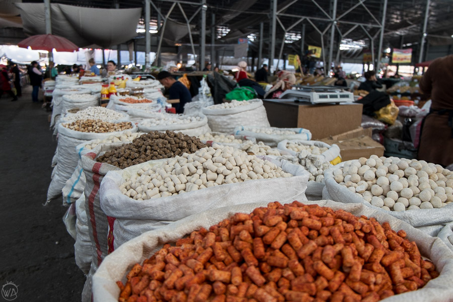 Osh Bazaar in Bishkek - places to visit in Kyrgyzstan