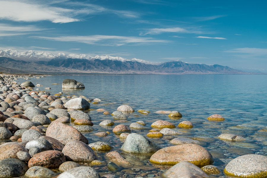 Issyk Kul south shore and the mountains - places to visit in Kyrgyzstan