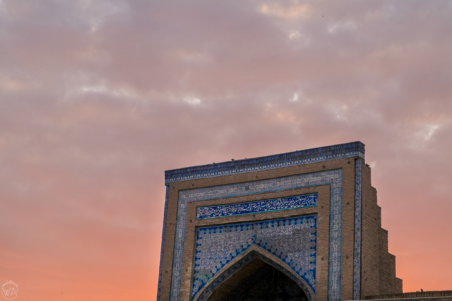 Sunrise in Khiva, Uzbekistan, Central Asia