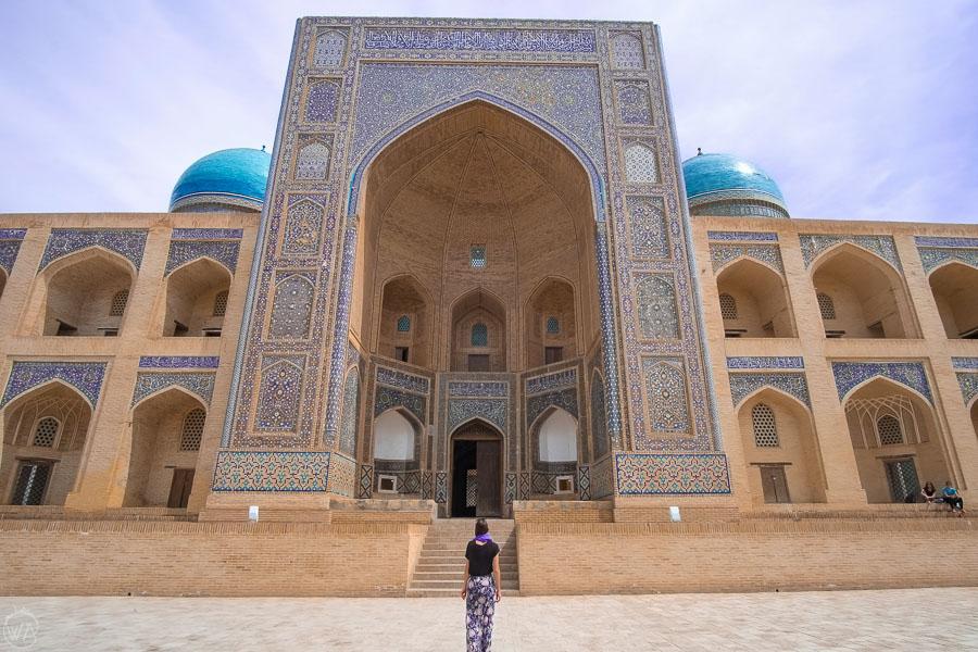 Madrasa, Bukhara, Uzbekistan, Central Asia itinerary