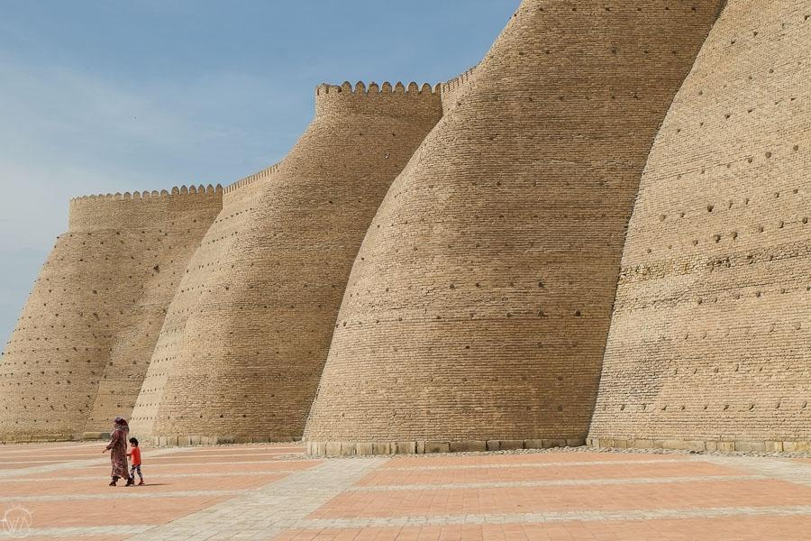 Bukhara city walls, Uzbekistan
