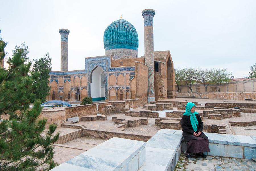 Gur Emir, Samarkand, Uzbekistan itinerary