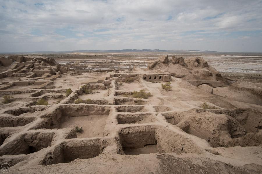 Golden ring of Khwarezm, 50 forts, Uzbekistan Qala