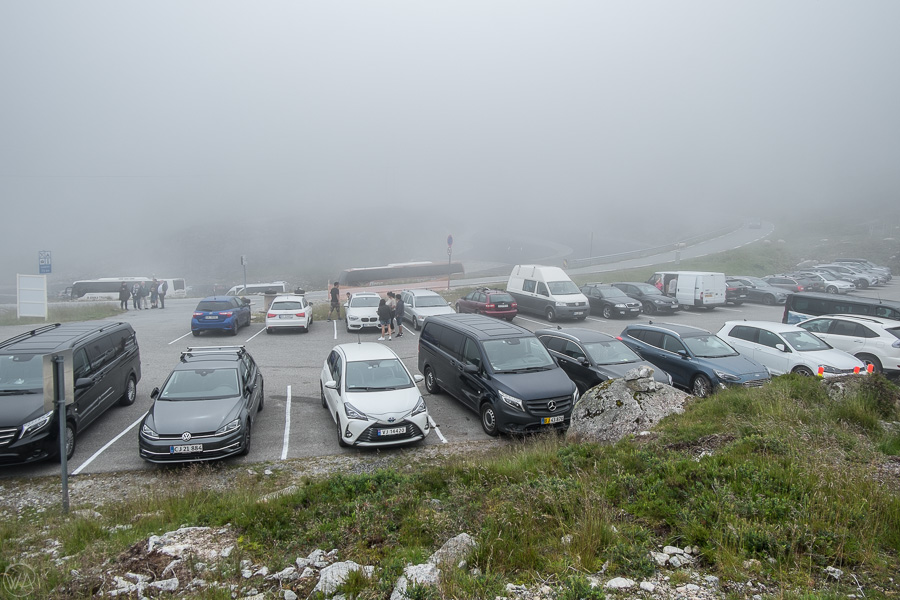 Full car park when we came back from our Kjerag hike at around 11 am.