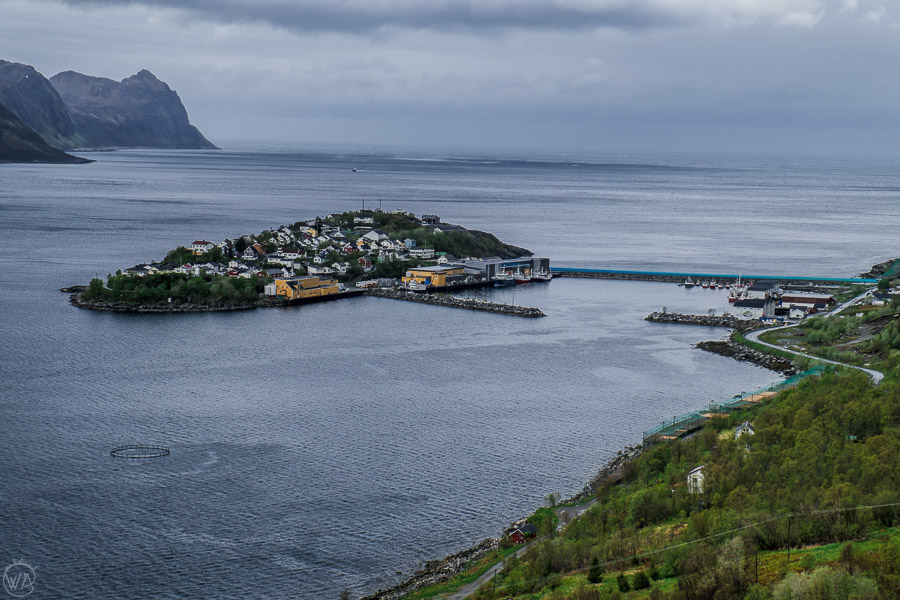 Husøy island on Senja, Norway