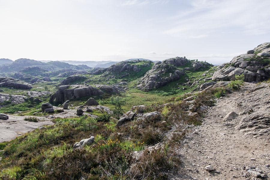 Trollpikken hike trail