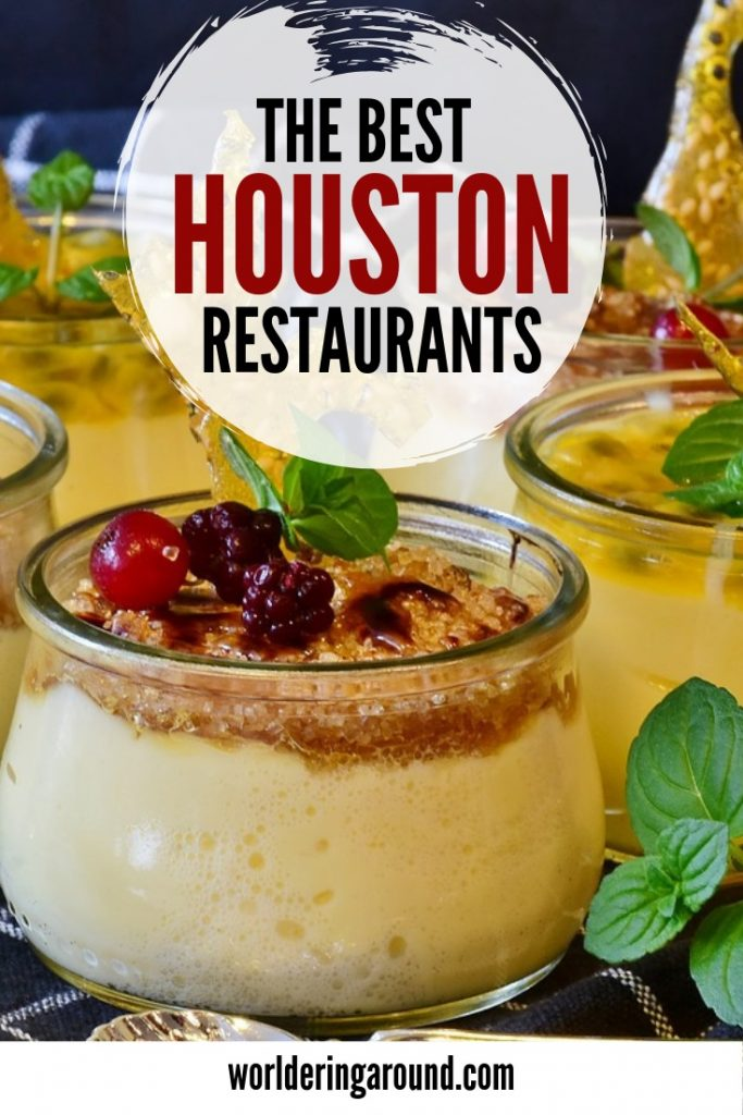 The best Houston restaurants for you to try. Check where to eat in Houston Texas with restaurants in Houston Downtown and not only. Find romantic restaurants in Houston and the ones with fresh products. Houston restaurants bucket list. Top Houston restaurants. #Houston #USA #restaurants #foodieguide #Houstonfood #Texas #worlderingaround