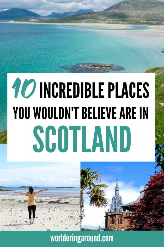 10 incredible places you wouldn't believe are in Scotland. Scotland hidden gems, Scotland off the beaten path, the best things to do in Scotland, great Scotland photography spots, visit Scottish castles, Edinburgh, Inverness, Scotland Highlands, Glasgow, Isle of Skye #Scotland #Edinburgh #offthebeatenpath #hiddengems
