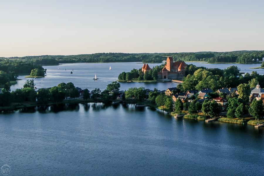 Trakai castle Vilnius day trip