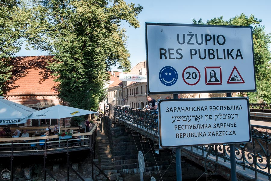 Užupis Republika, Vilnius, Lithuania