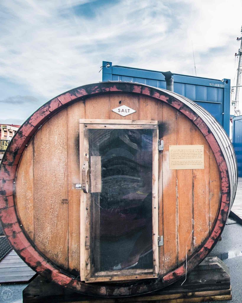 Things to do in Oslo in winter - visit barrel sauna