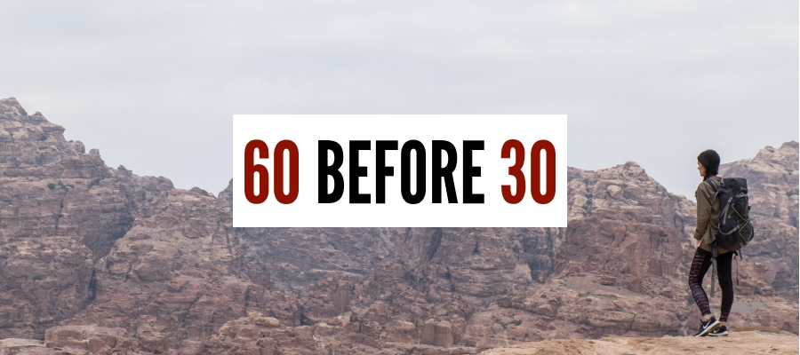 60 Countries Before Turning 30 + Does Counting Really Matter?