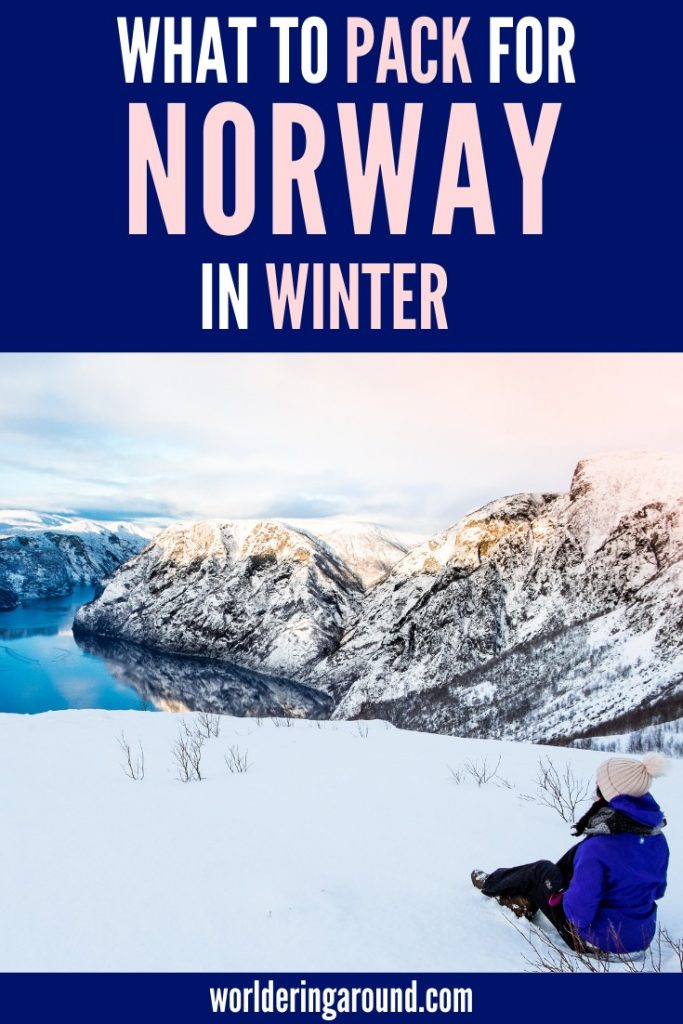 Full Norway winter packing list from the local. What to pack for Norway in winter? Warm and cute Norway winter outfits, what to wear in Norway in winter, Norway winter fashion, Norway winter travel. | Worldering around #Norway #winter #travel #outfits #fashion #packinglist