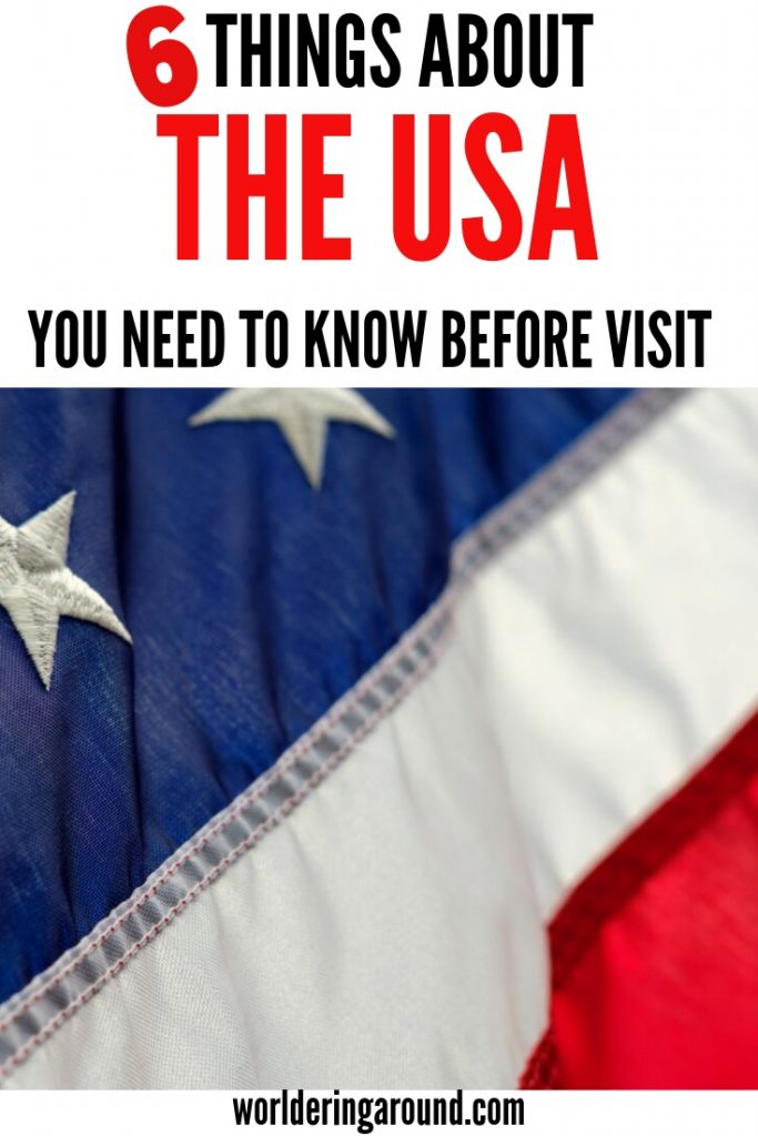 The United States of America travel tips and things about the USA you need to know before you visit. United States guide and USA tips, travel tips, USA visa | #worlderingaround #USA #travel