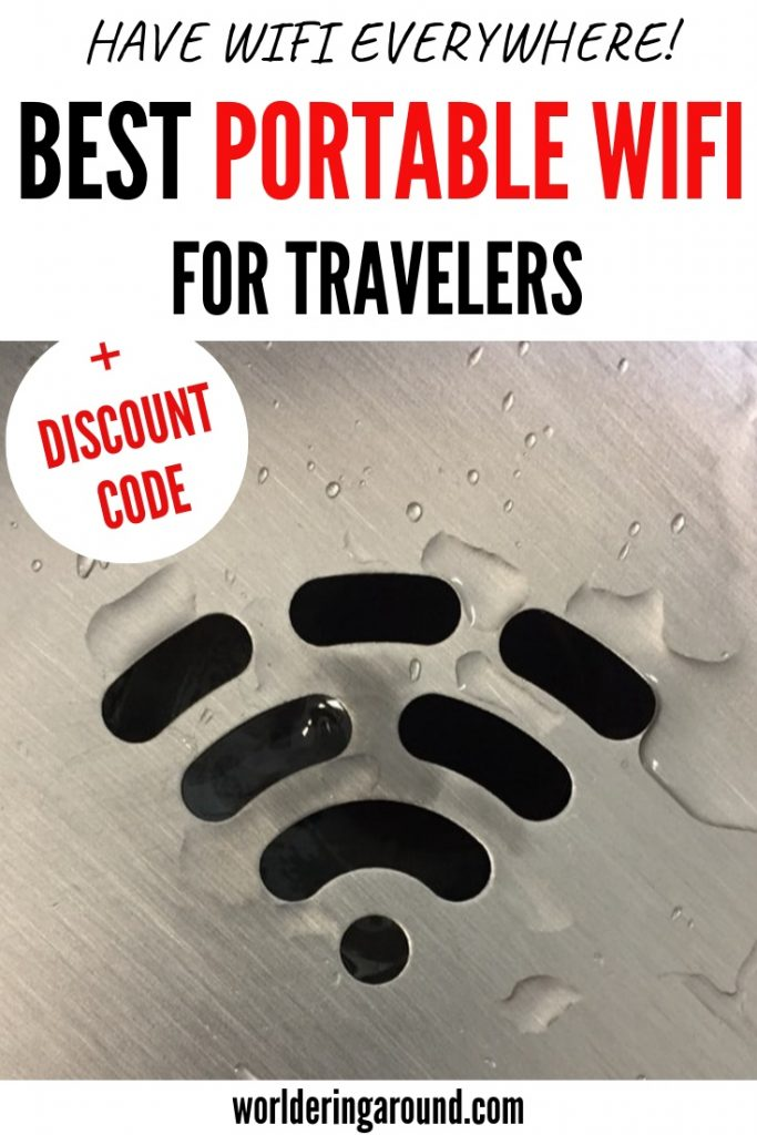 Best portable wifi for travelers! Mobile wifi hotspot for travel, mobile internet, mobile wifi router | #worlderingaround #wifi #mobilehotspot #travel