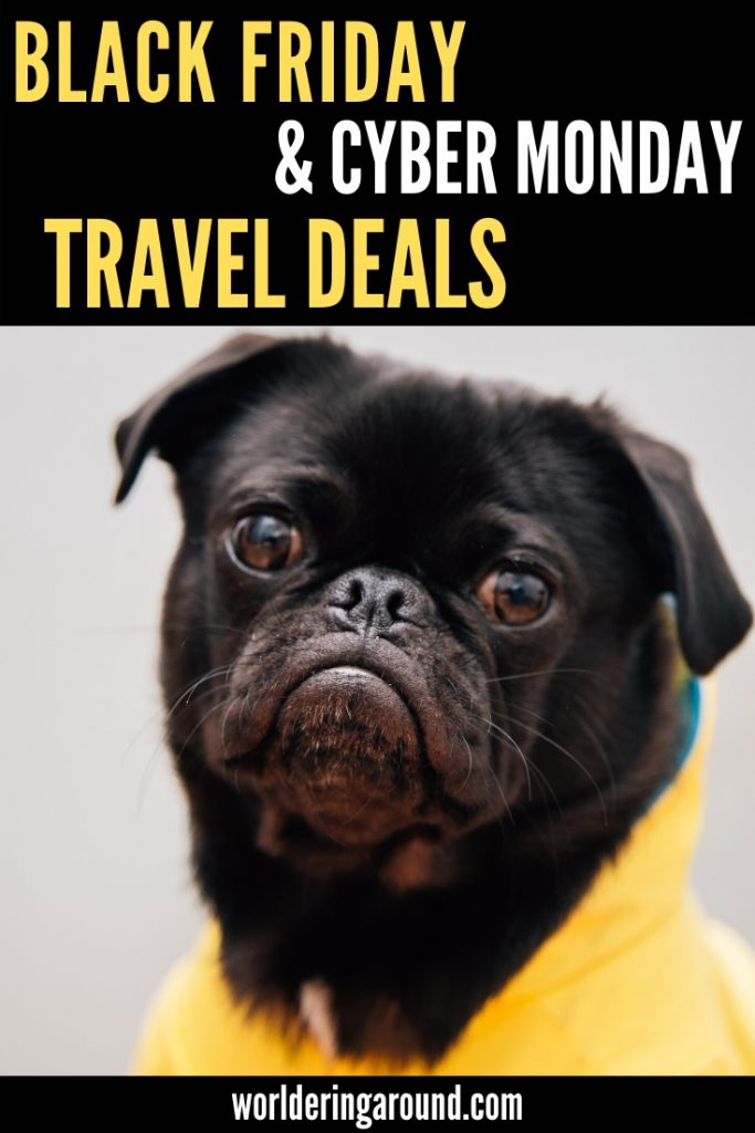 Find the best Black Friday travel deals, Cyber Monday travel deals and Travel Tuesday to save on travel in 2019 and 2020. Shop for the best holiday deals and travel gifts for budget prices. #blackfriday #cybermonday #travel #traveldeals
