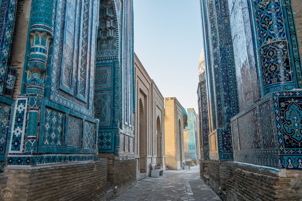 Visiting Shah-i-Zinda Necropolis is one of the must things to do in Samarkand. Uzbekistan