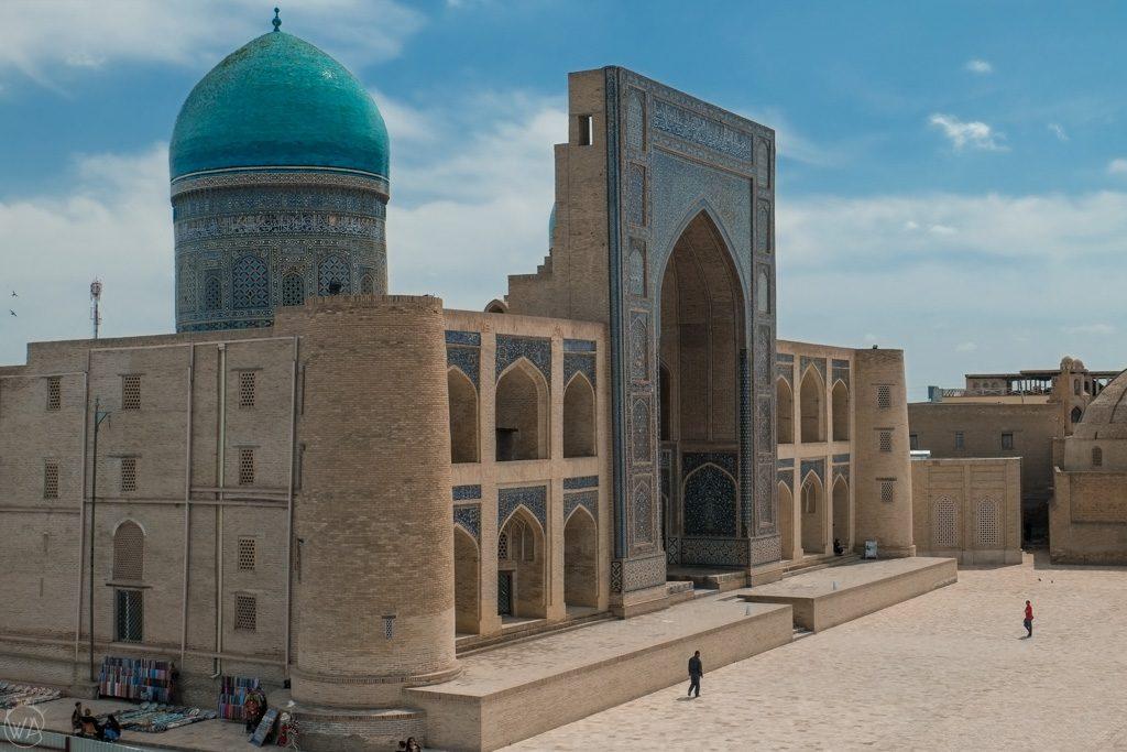 Mir-i-Arab Madrasa in Bukhara, Uzbekistan
