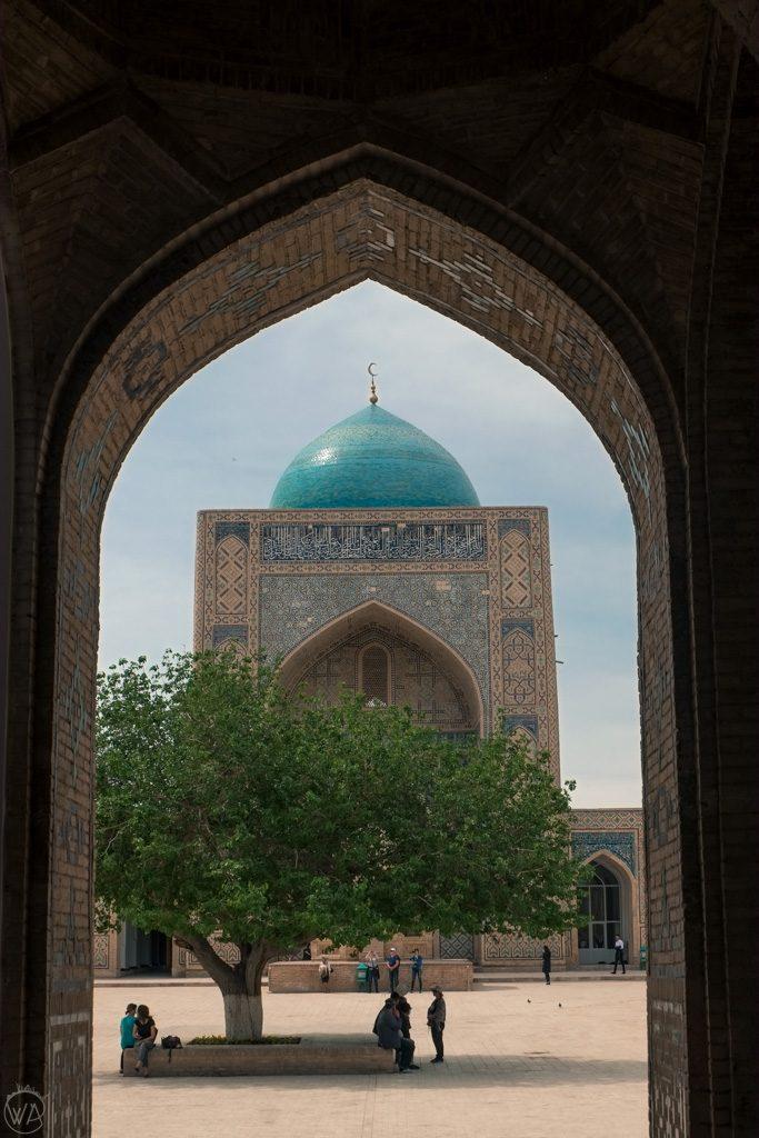 Kalan Mosque, Po-i-Kalyan in Bukhara, Uzbekistan