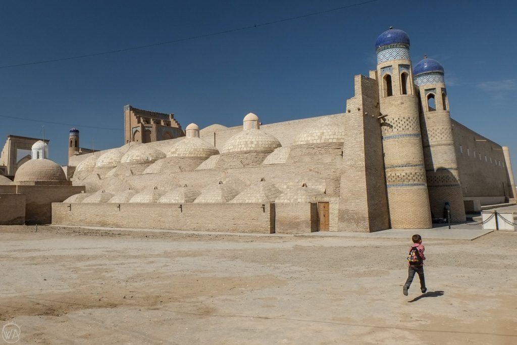 Entrance to Itchan-Kala, Khiva, Uzbekistan