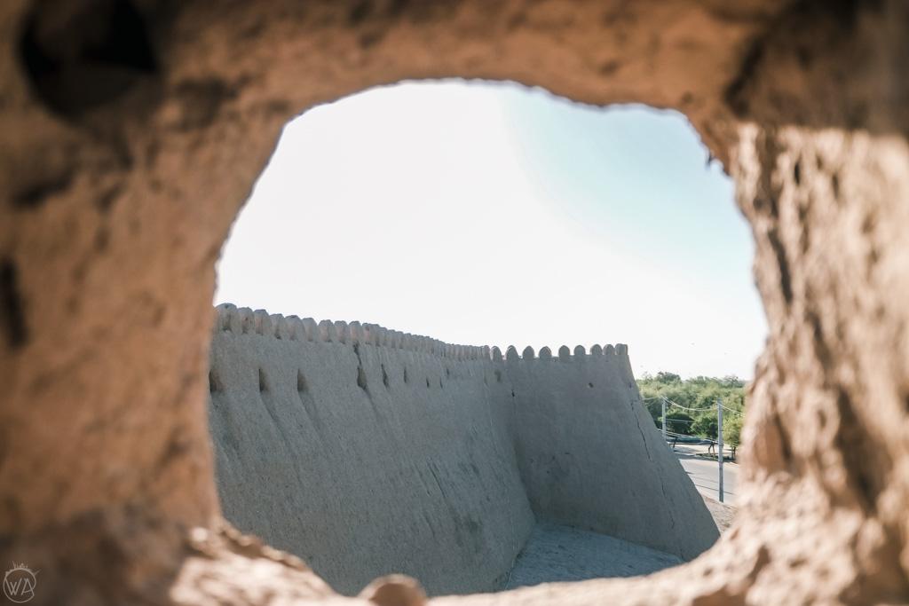 Mury starego miasta Chiwa, Uzbekistan