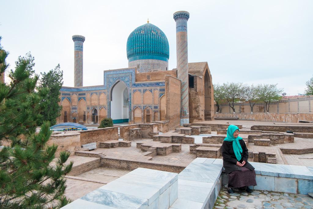 Mauzoleum Gur-i-Mir, Samarkanda, Uzbekistan