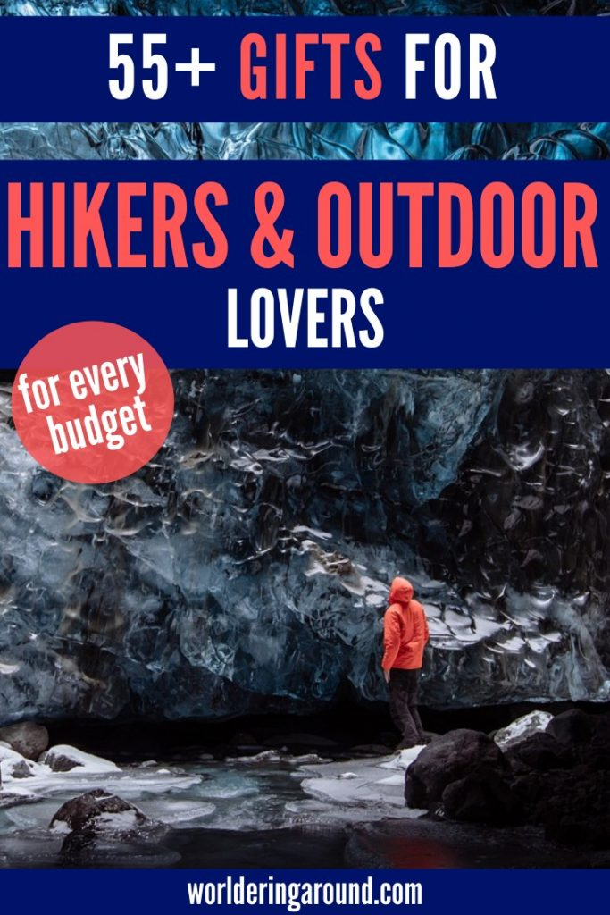 55+ best gifts for outdoor lovers, hikers, and campers. Find the best outdoor gifts ideas for your outdoorsy friends and family with this outdoors gift guide | outdoor gifts, hiking gifts, outdoor gifts for her, outdoor gifts for him, gifts for hikers, hiking gift ideas, gifts for boyfriend, gifts for best friends, gifts for him | Worldering around #outdoors #camping #hiking #giftideas #outdoorgifts #christmasgifts