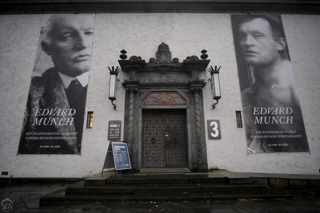 Entrance to the KODE art museums in Bergen, Norway