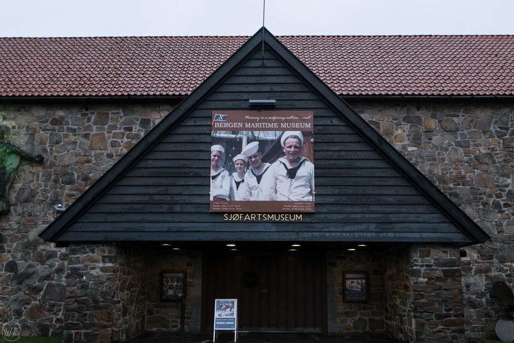 Bergen Maritime Museum Entrance