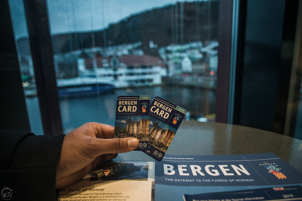 Bergen Card in Bergen in winter