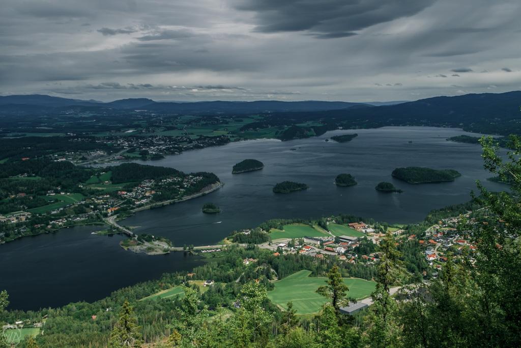 Kongens Utsikt, day trip from Oslo, Norway