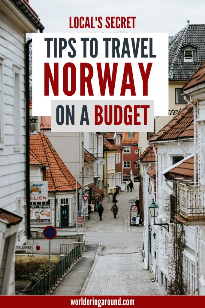Local's secret tips on how to travel Norway on a budget. How to find cheap accommodation in Norway, where to eat cheaply in Norway, how to travel around Norway on a budget, secret tricks on how to minimize costs in Norway, as well as Norway expenses and Norway prices. #Norway #budget #budgettravel #Scandinavia #cheap #travel #backpacking