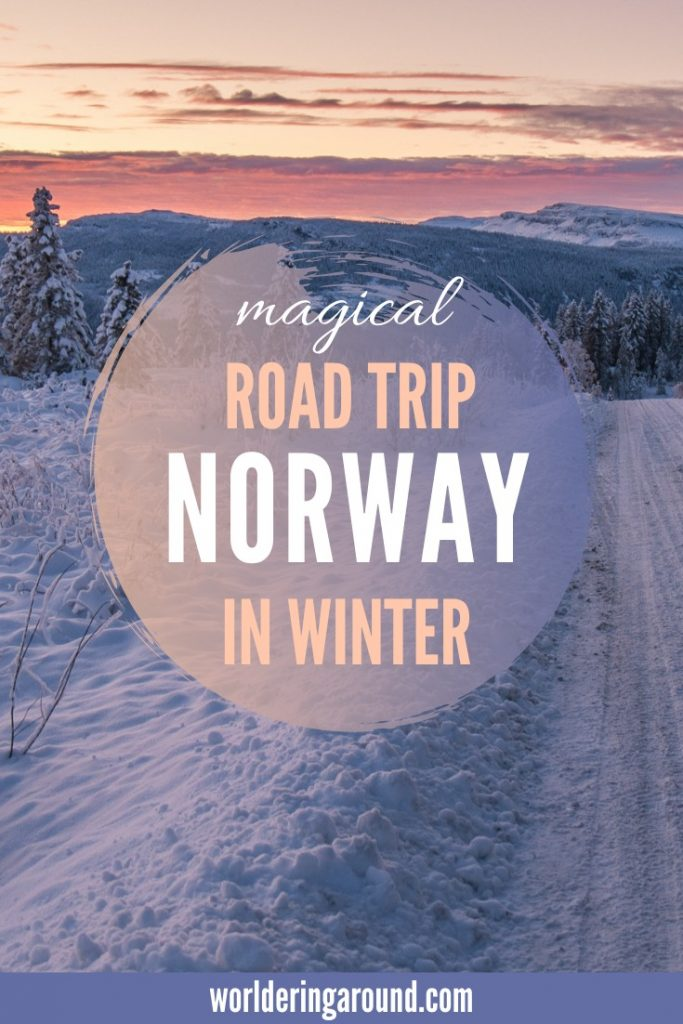 Discover the magical Norway in winter with the best Norway road trip itinerary. Visit Norway fjords in winter and try Norway in a Nutshell. Experience great adventure in Norway with the most magical Norway winter road trip itinerary. Map included! | Worldering around #Norway #roadtrip #travel #travelinspiration #winter