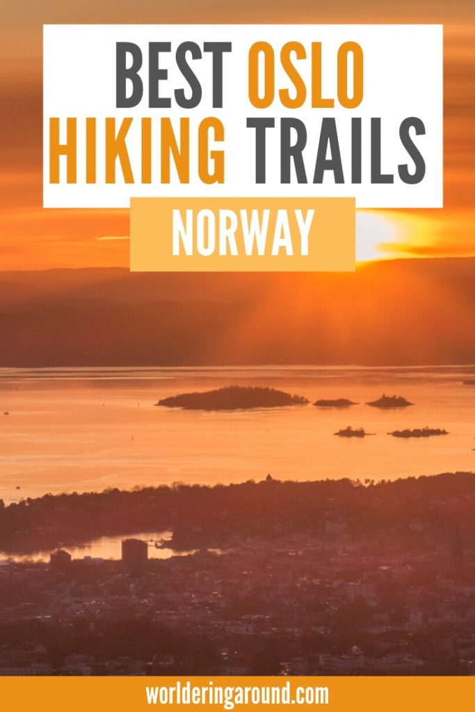 Best Oslo hiking in Norway with the most amazing views and landscapes you wouldn't believe are in Oslo. Go outdoors in the Norwegian capital, try hikes near Oslo and in the Oslo city with amazing views, easily accessible by public transport | #hiking #Oslo #Norway #hikes #worlderingaround #scandinavia