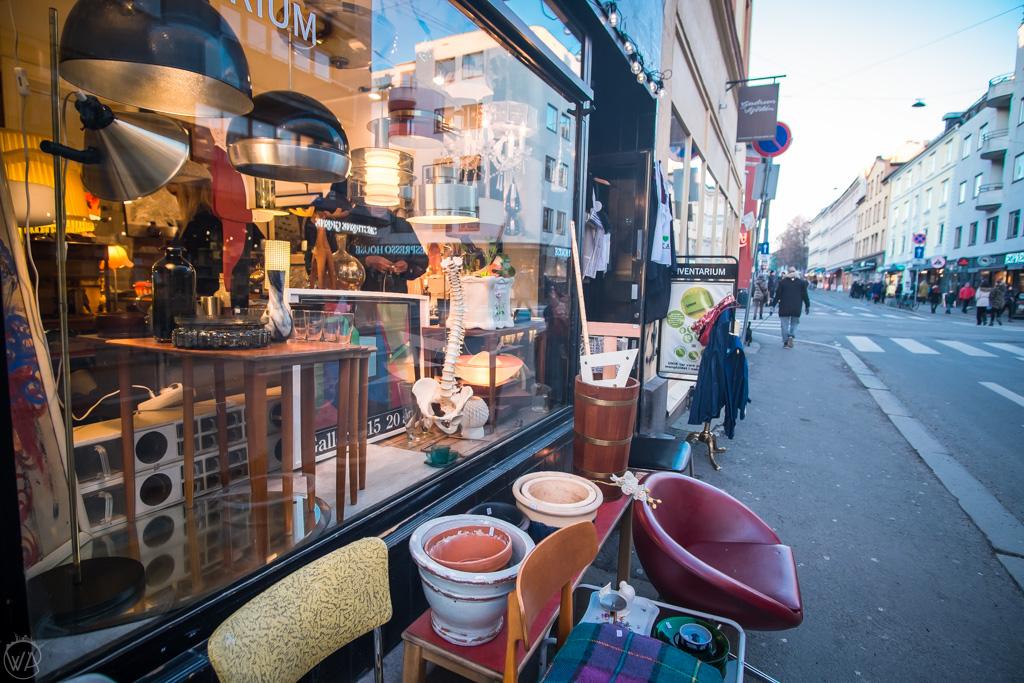 vintage shops in Oslo Grünerløkka